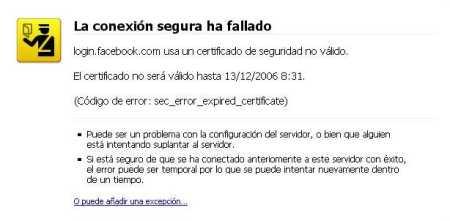 Certificado Firefox