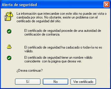 Certificado Internet Explorer