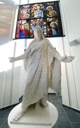 Jesucristo de LEGO