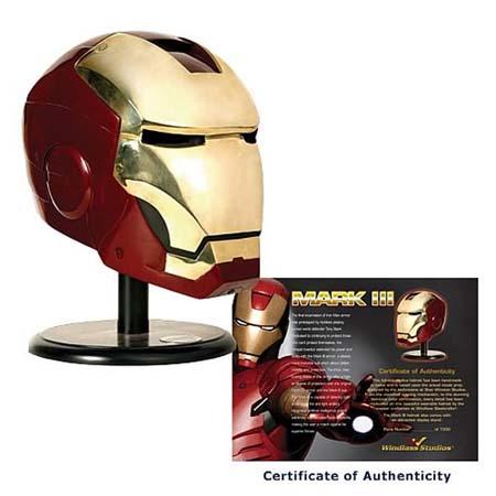 Casco ironman edición limitada