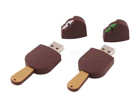 Memoria USB de helado