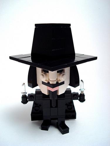 V de Vendetta LEGO
