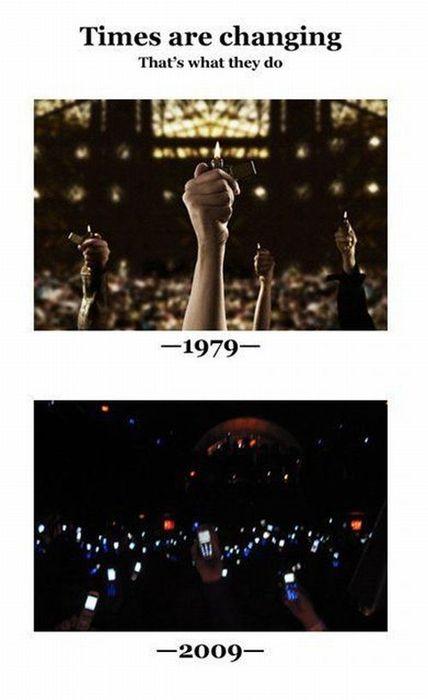 Los tiempos están cambiando