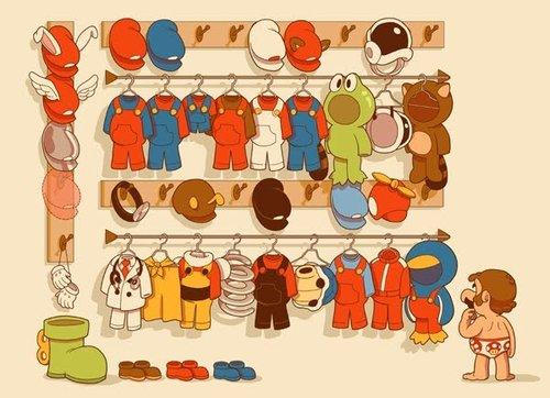 Ropero de Mario