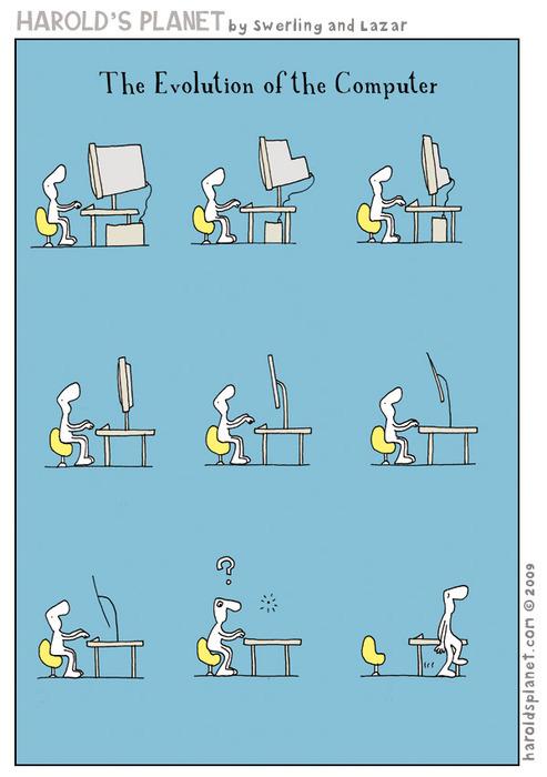 La evolución de los ordenadores
