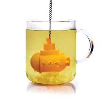Submarino amarillo para hacer té