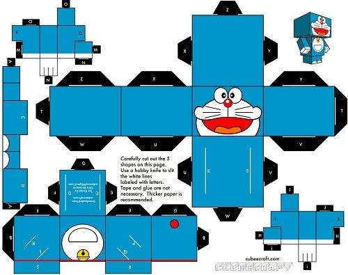 Recortable De Doraemon   Cabecicubo