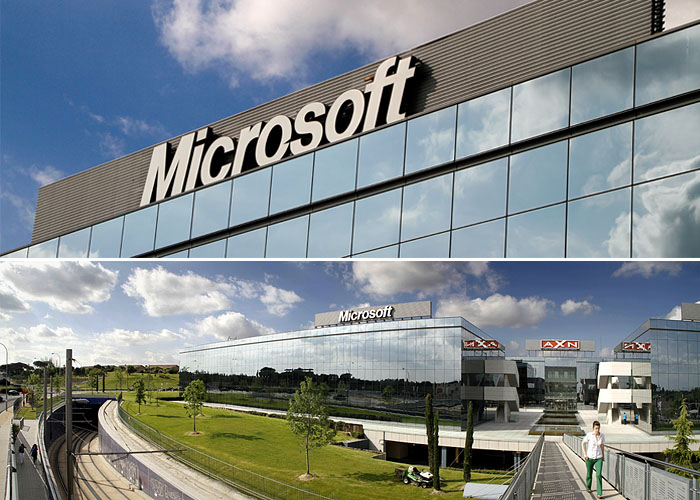 Fotos de las oficinas de microsoft en espa a madrid for Oficinas de seur en madrid
