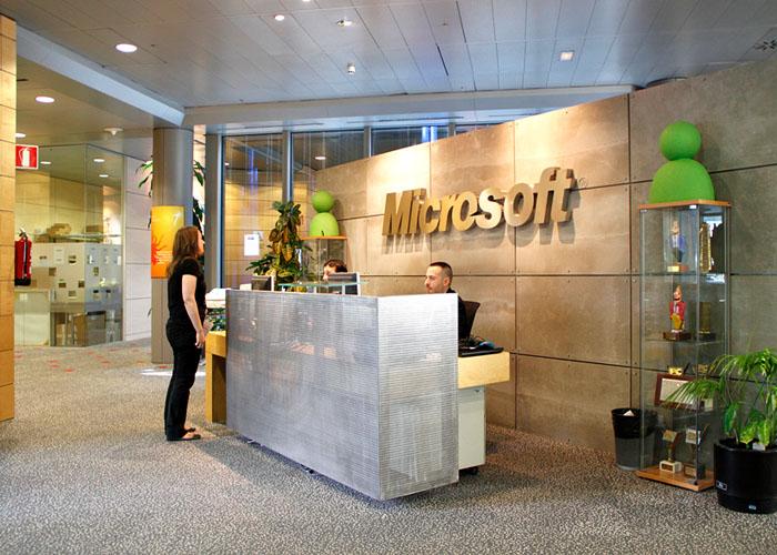 Fotos de las oficinas de microsoft en espa a madrid for Vaciado de oficinas en madrid
