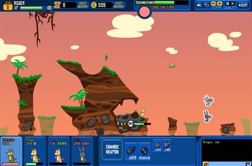 Wild Ones Juego Online Multijugador Parecido A Worms Geekalia Com
