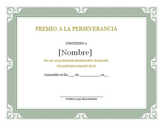 ... de diplomas gratis para Microsoft Office listas para imprimir