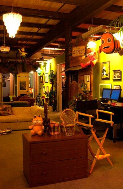 fotos de las oficinas de pixar On oficinas pixar