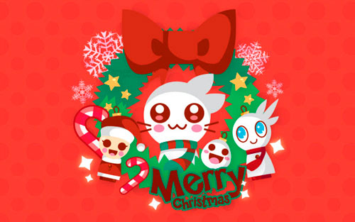 cute cartoon holiday wallpaper - photo #8