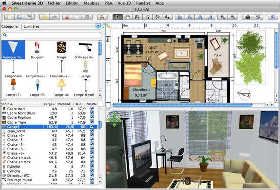 Sweet home 3d programa gratis para dise ar interiores en for Software diseno de interiores gratis