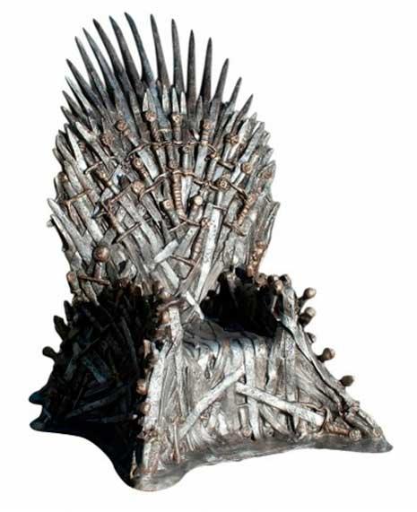 Juego de tronos r plica del trono de hierro a tama o real - Trono de hierro ...