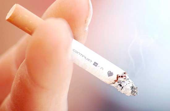 El modo fácil a dejar fumar las estampas