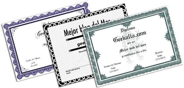 Páginas para diseñar, crear e imprimir diplomas gratis online ...