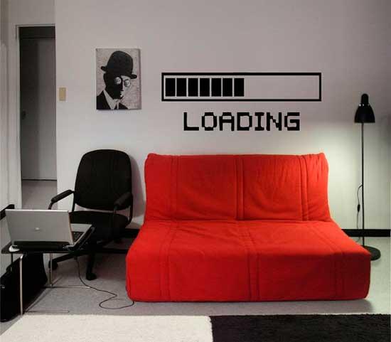 5 vinilos decorativos de pared para geeks for Room decoration 3 game