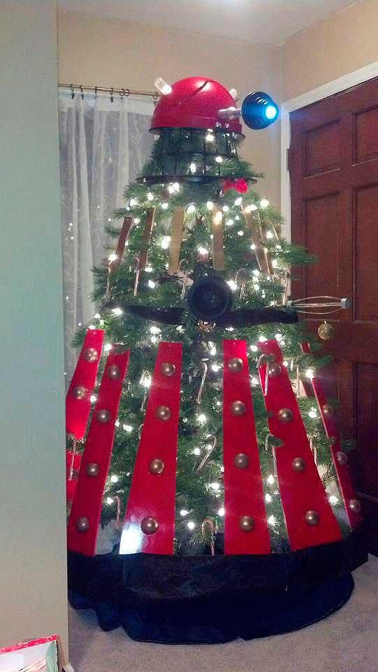 Árbol de Navidad Dalek para geeks