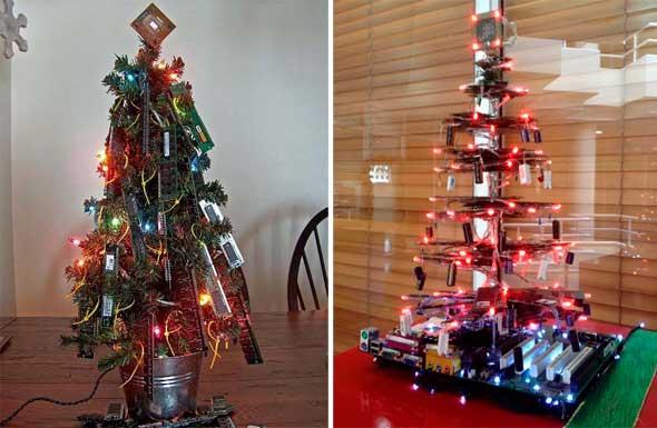 Árboles de Navidad geek