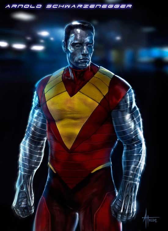 Arnold Schwarzenegger como Coloso