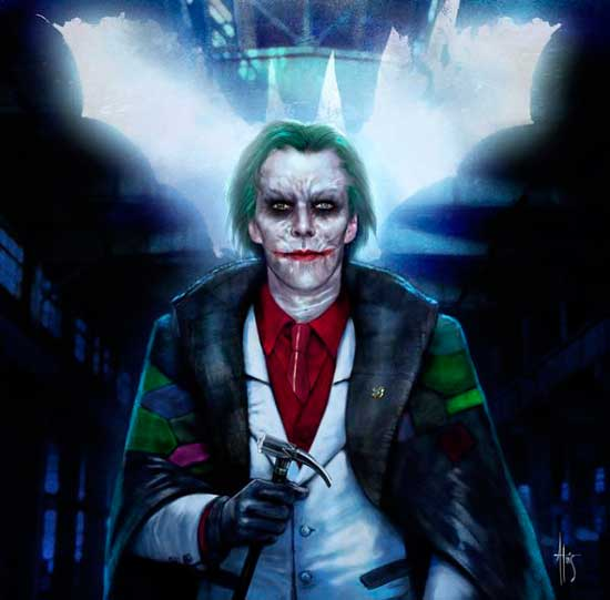Benedict Cumberbatch como joker