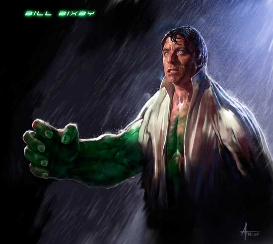 Bill Bixby como Hulk