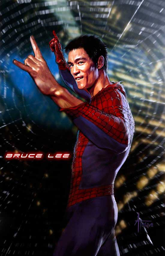 Bruce Lee Spiderman