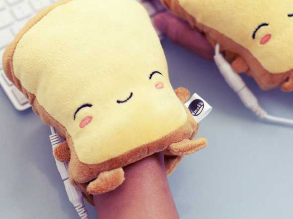 Butta, un calientamanos USB de estilo Kawaii