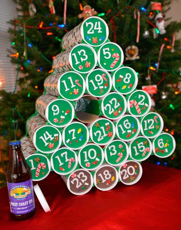 Calendario de adviento para cerveceros