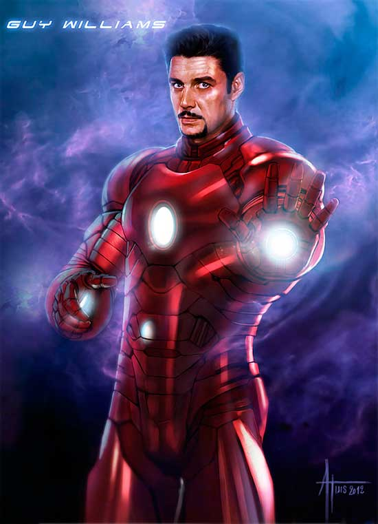 Guy Williams como Ironman