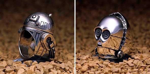 Anillos de boda de Star Wars