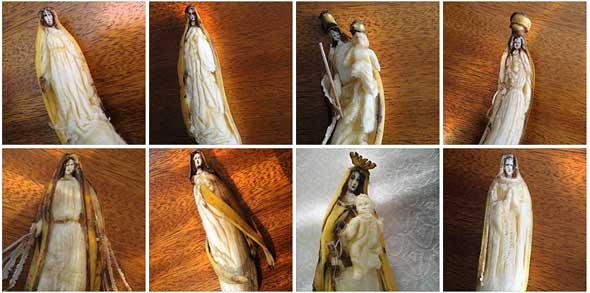 Caras y figuras con bananas de Victor Nunes