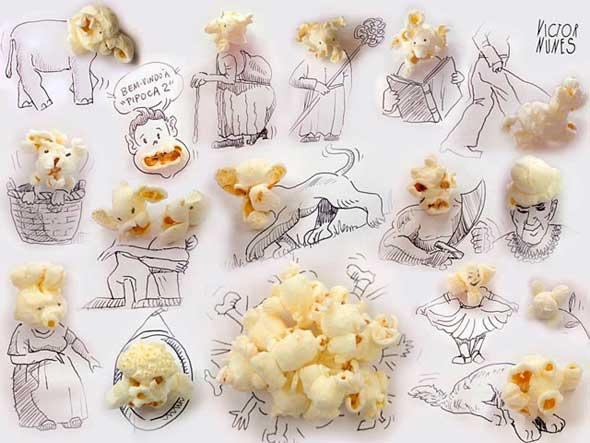 Las imaginativas 'Caras' de Victor Nunes
