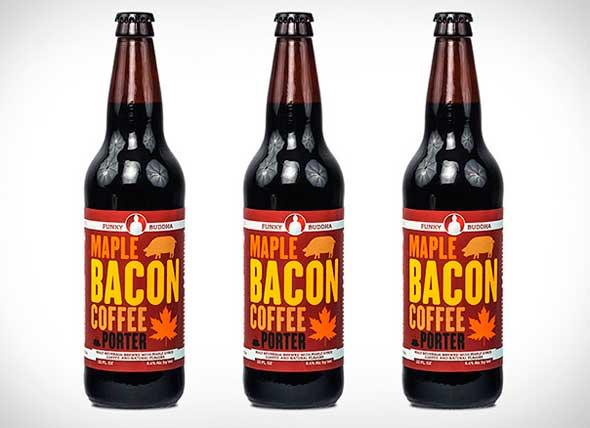Cerveza de bacon, café y jarabe de arce
