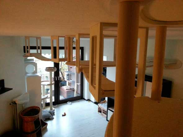 Goldtatze muebles modulares gatos