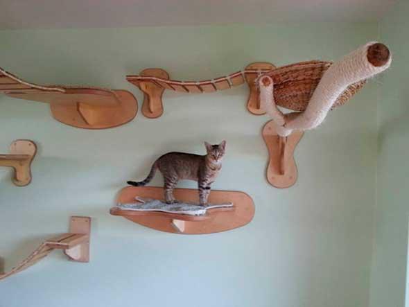 Goldtatze muebles modulares para gatos
