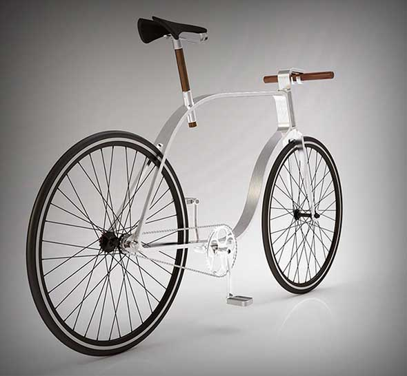 Kzs Cycle, un concepto de bicicleta minimalista