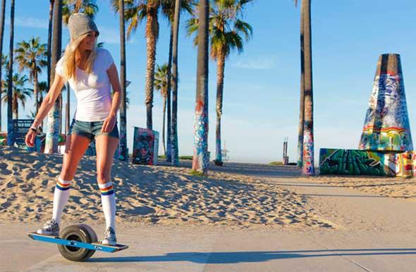 Onewheel - Un skateboard eléctrico con una sola rueda