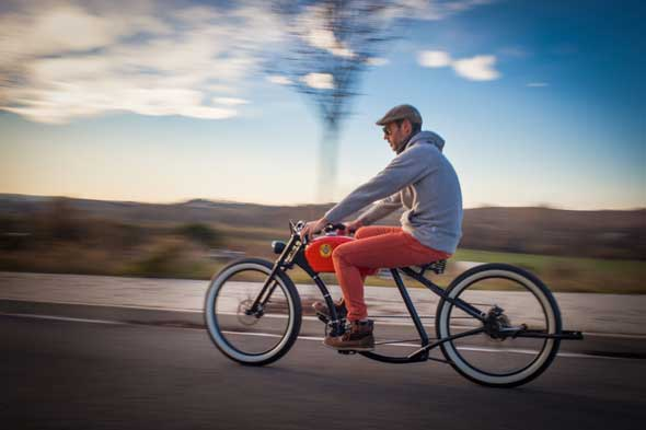 Bicicletas eléctricas con diseño retro de Oto Cycles