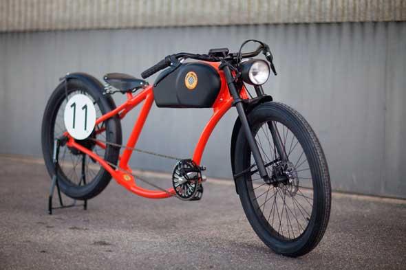Bicicletas eléctricas con diseño vintage de Oto Cycles