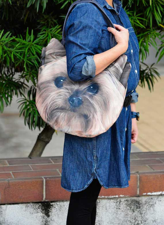 Bolsos con cara de perros
