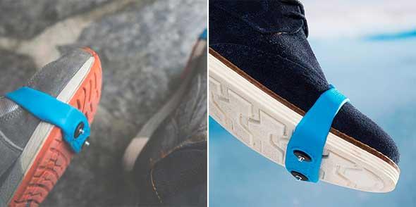 Tacos/Clavos portátiles para calzado que garantizan un mayor agarre en hielo y nieve