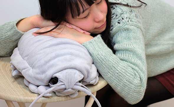 Peluche isópodo gigante o daiogusokumushi en japonés