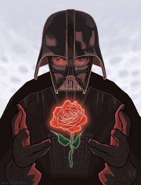 Tarjetas geek para el día de San Valentín