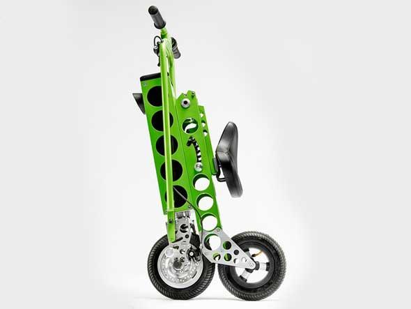 URB-E bici eléctrica plegable