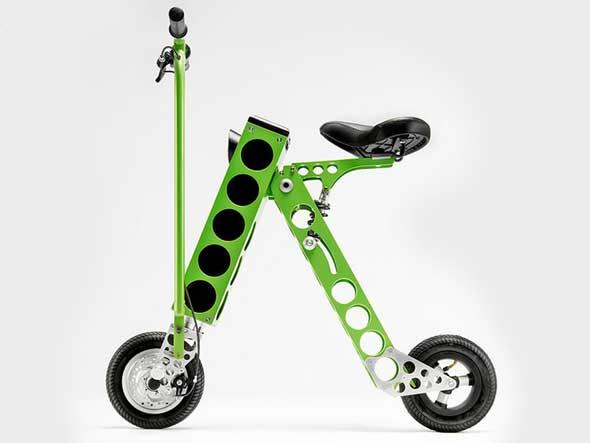 URB-E una bicicleta eléctrica plegable