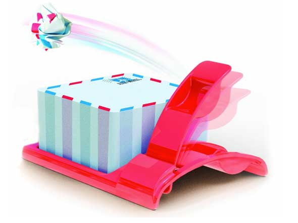 Airmail Notepad - Mensajería aérea para la oficina