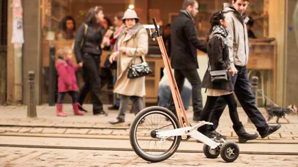 El Halfbike, es casi una bicicleta