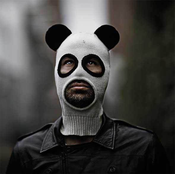 Pandito, un pasamontañas panda